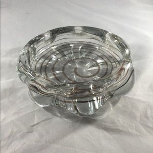 Vintage Hand Made Glass Ashtray